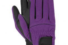 перчатки фиолетовые