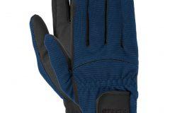 перчатки взрослые синие